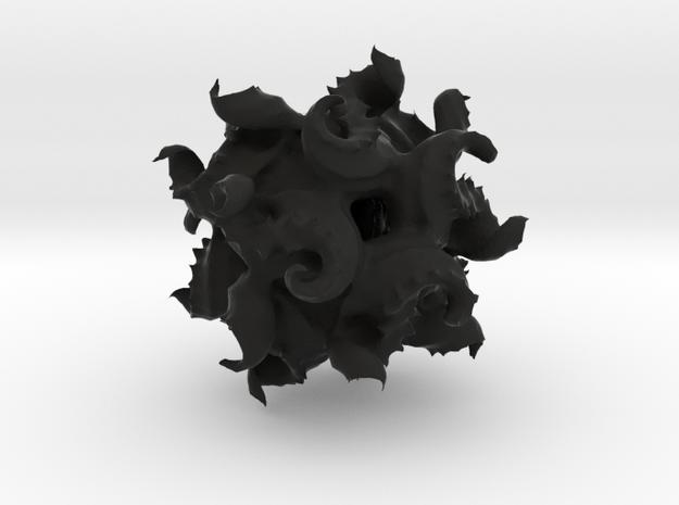 Modified Quaternion IFS 3D Fractal 3d printed