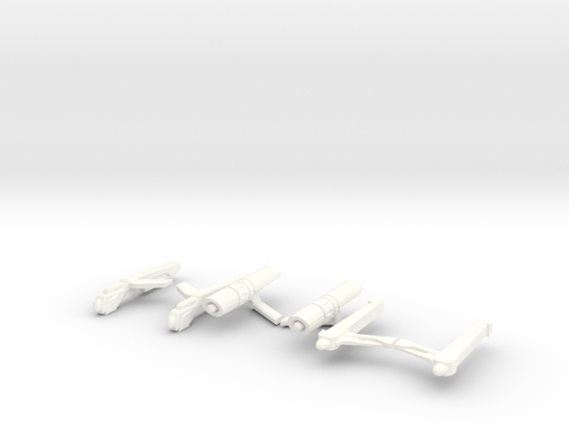 3-Pack of Nacelles 3d printed