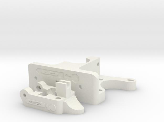 Schlaboratory Budastruder in White Natural Versatile Plastic