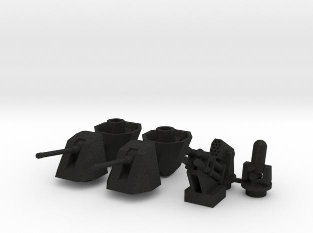 OtoMelara 4x, CIWS, RAM & Harpoon
