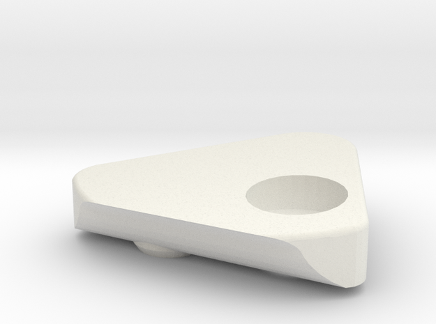Eye Cover in White Natural Versatile Plastic