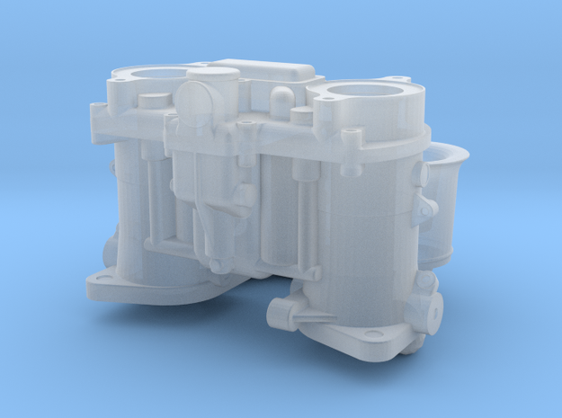 1 16 Scale Down Draft Webber Carbs With Short Velo 3d printed