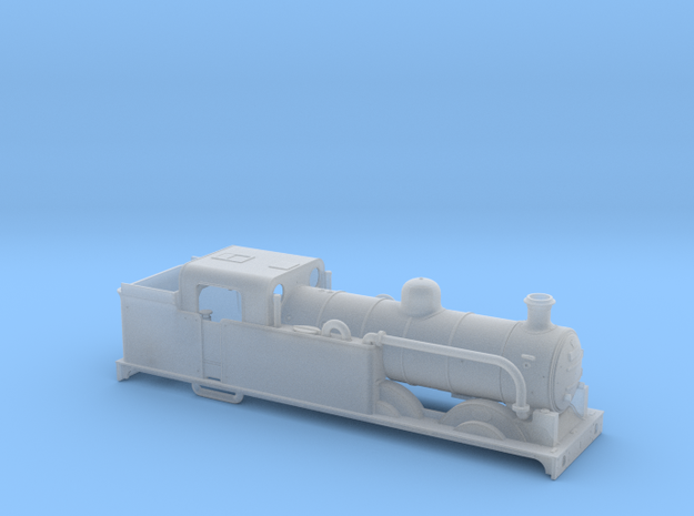 AJModels P01A Ivatt N1 Saturated with Condenser in Smooth Fine Detail Plastic