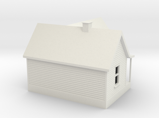 Old House 1:120 3d printed