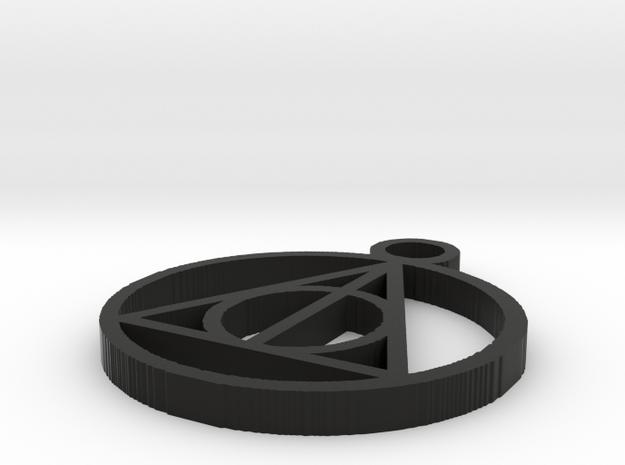 HP pendant in Black Strong & Flexible