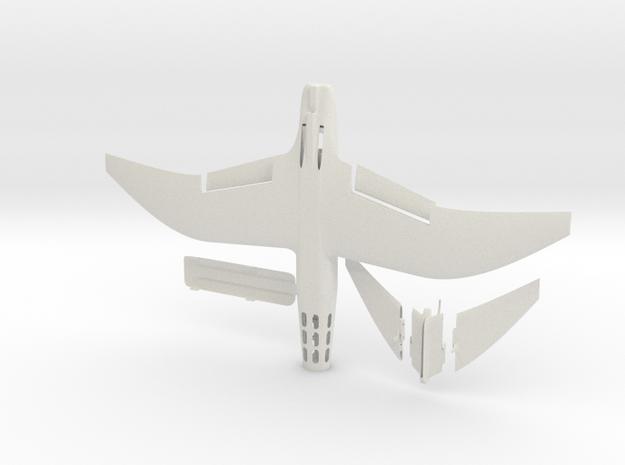 Wind Skimmer - DPF1 - Solid in White Natural Versatile Plastic
