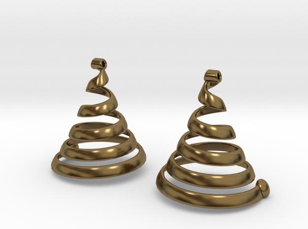 Spiralearring 3d printed