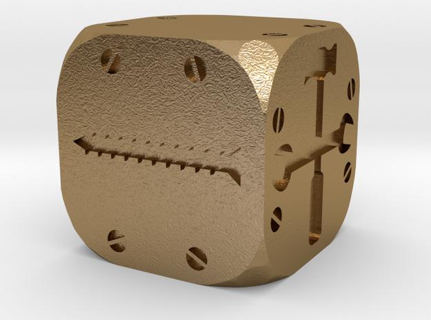 Tinker Die DF (Fudge/FATE) Solid  3d printed
