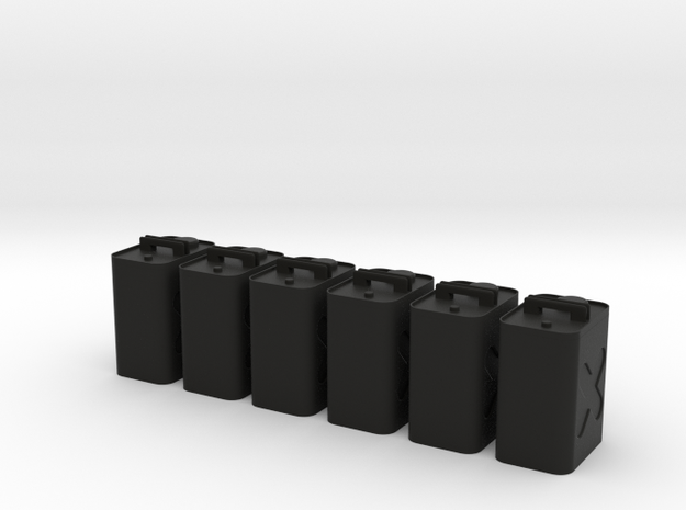Gas Can 6 Pack 3d printed
