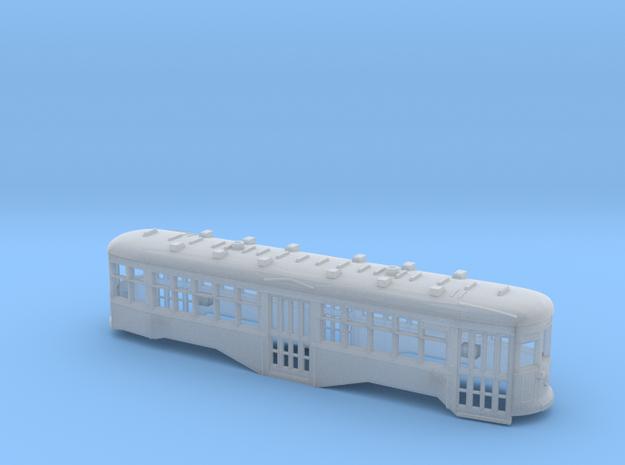 HO Scale B&QT 8000-series Body Shell 3d printed