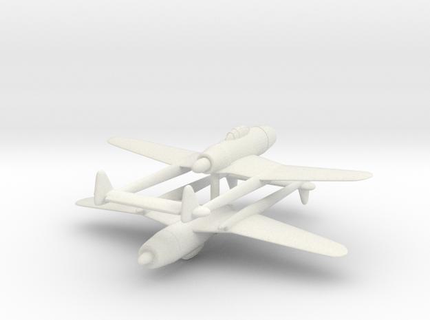 1/300 Tachikawa Ki-94-1 (x2) in White Natural Versatile Plastic