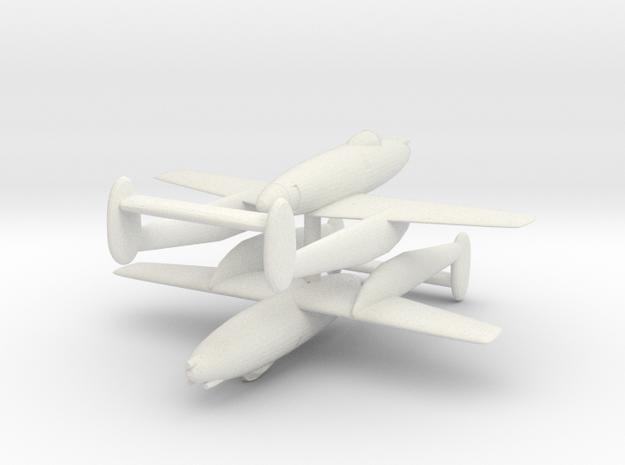 1/300 Manshu Ki.98 (x2) in White Natural Versatile Plastic