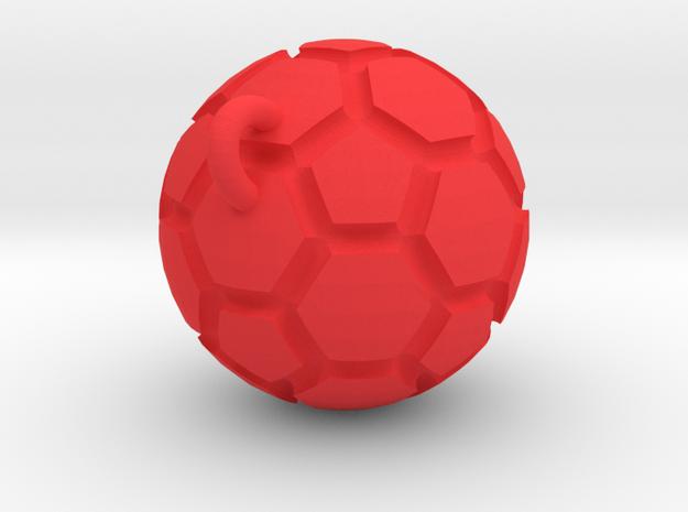 Pendant(Soccer Ball) 3d printed