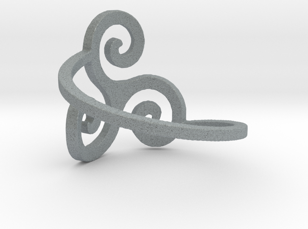 Triskelion Ring Ring Size 7 3d printed
