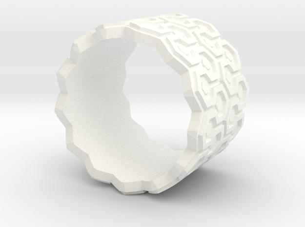 Shining Carpet Ring 3d printed