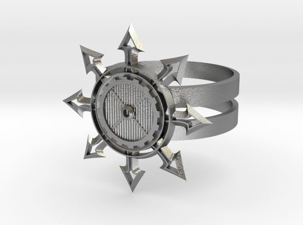 Chaos Star Ring 3d printed Chaos star ring
