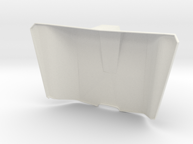 Iron Man MkIII - Spine-3 in White Natural Versatile Plastic