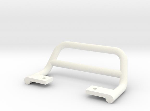 SR40001 Beach Buggy Bumper in White Processed Versatile Plastic