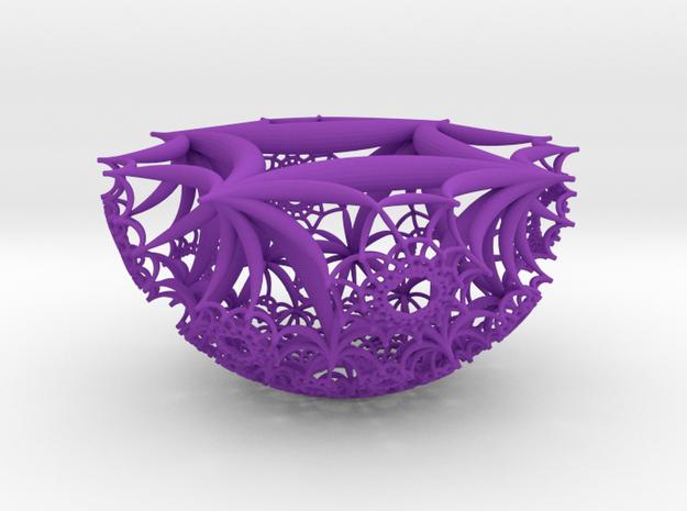 Half of a {4,4,4} H³ Honeycomb 3d printed