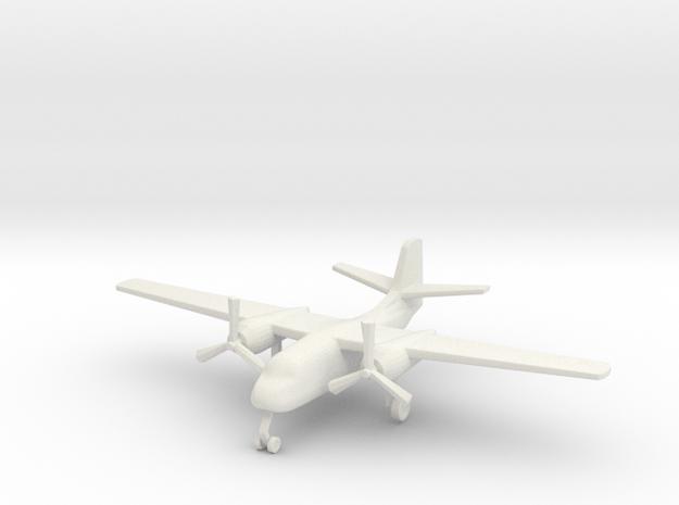 1/285 (6mm) S-2 Trader  in White Natural Versatile Plastic