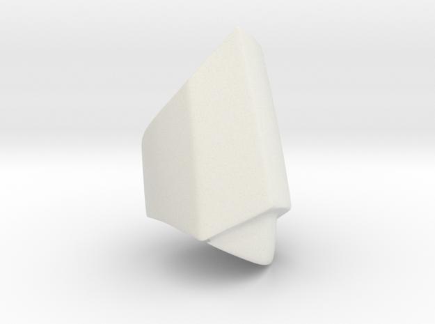 Iron Man mkIII - Ring-mid in White Natural Versatile Plastic