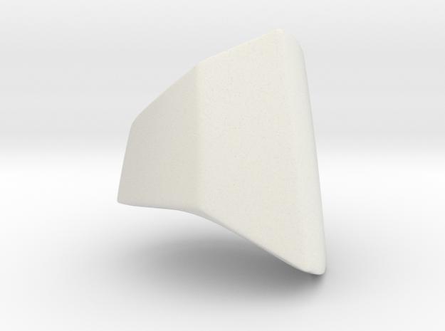 Iron Man MkIII - Ring-base in White Natural Versatile Plastic