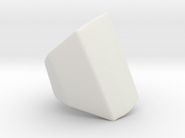 Iron Man mkIII - Pointer-base in White Natural Versatile Plastic