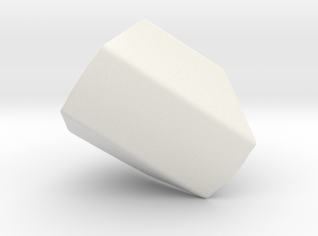 Iron Man MkIII - Thumb-base in White Natural Versatile Plastic