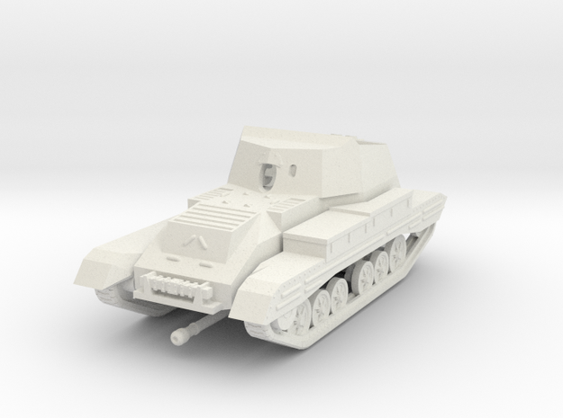 Vehicle- Valentine Tank Archer (1/72) 3d printed