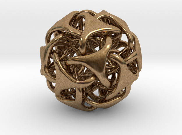 Icosa Medio - solid - Pendant 25mm 3d printed