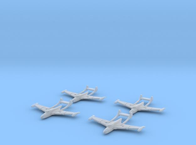 1/350 D.H.112 Sea Venom (x4) 3d printed