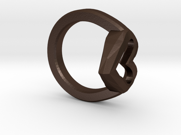 FLYHIGH: Open Heart Ring 19mm 3d printed