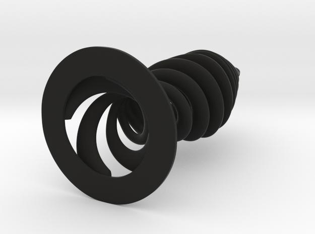 Spiral Lamp armature 3d printed