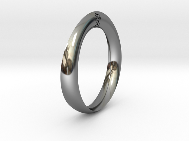 Moebius Love Ring 3d printed