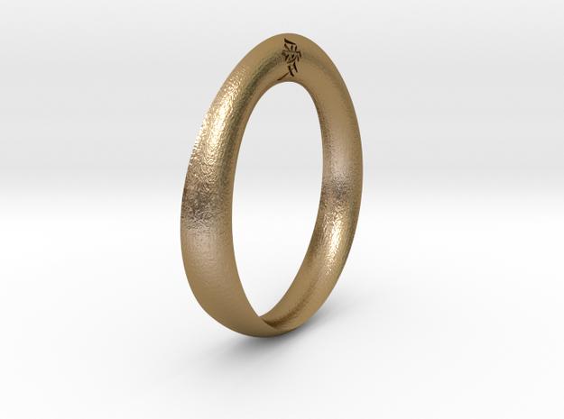 Moebius Love Ring 3d printed