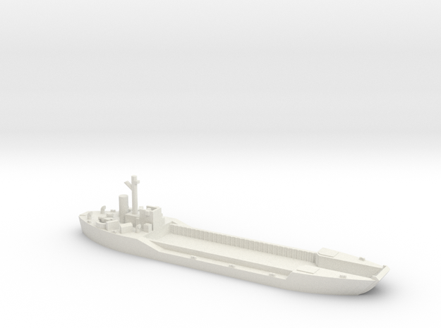LCT-4 1/700 Scale in White Strong & Flexible