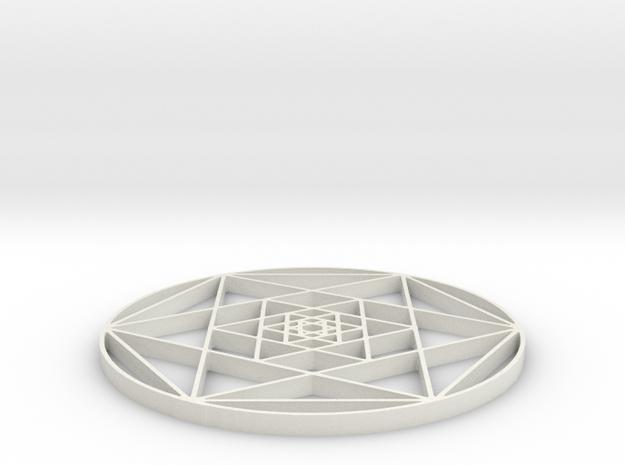 Penta Fractal - 2 inch 3d printed