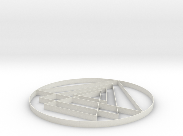 Yantra - 2 inch 3d printed