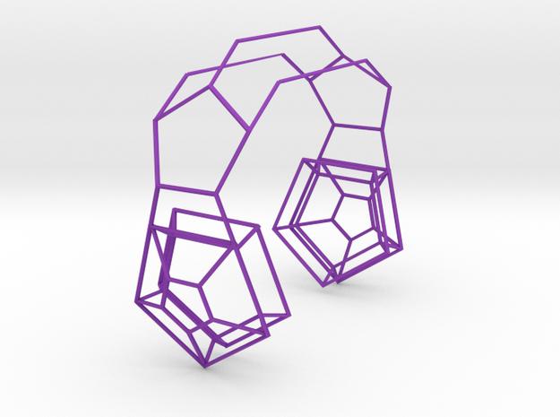 Headset of Pentagons 3d printed