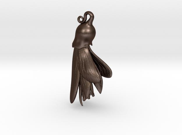 Kowhai Flower pendant ~ 47mm 3d printed