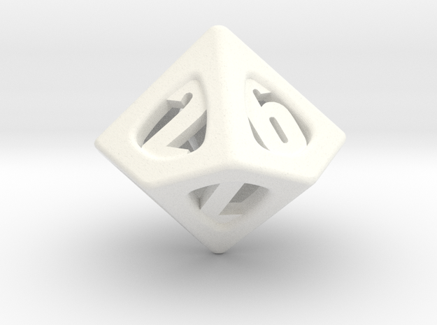 Thoroughly Modern Die10 3d printed