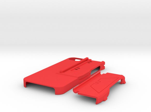 Utility Blade Case for iPhone 5 3d printed