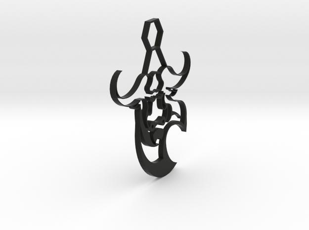 Bull Pendant 3d printed