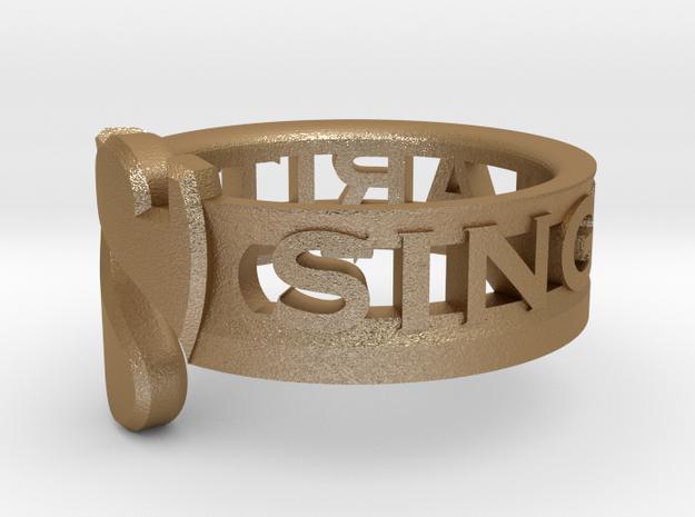 SU2013 Ringsize11 3d printed