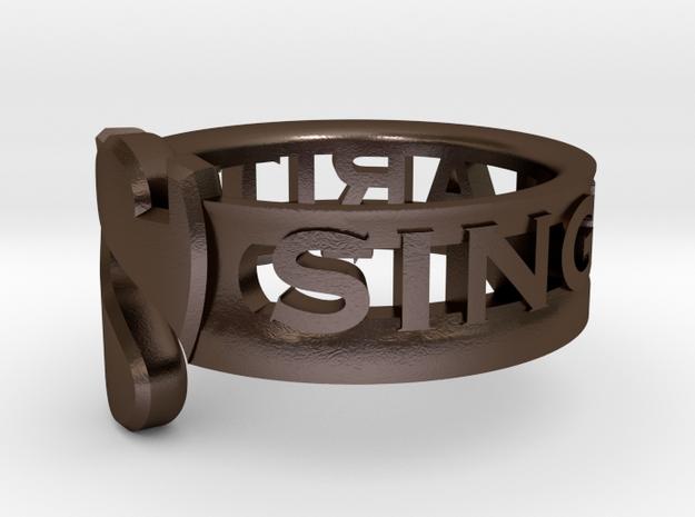 SU2013 Ringsize10 3d printed