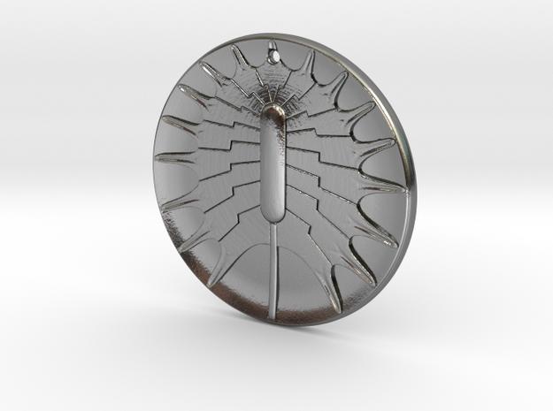 Asteromphalus imbricatus pendant ~ 36mm 3d printed