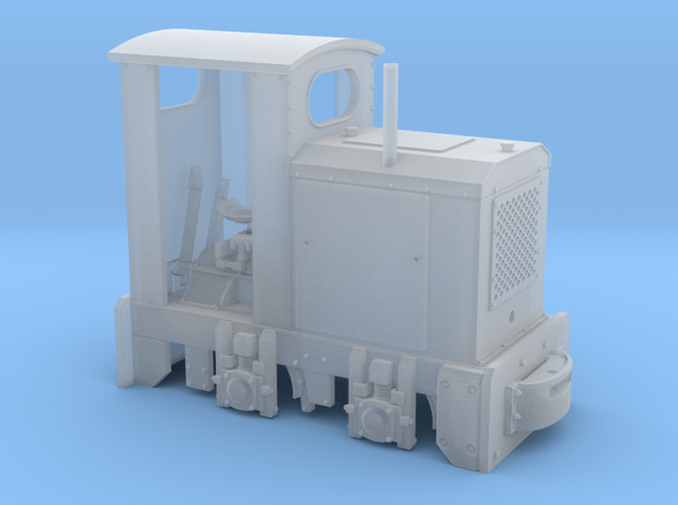 Feldbahn O&K MD2 (Spur 1f) 1:32 mit Kabine 3d printed