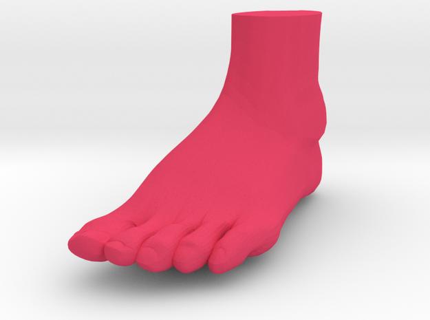 "Solid Foot - 4.4"" Length 3d printed"