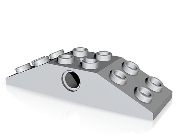 Custom Lego 2x6 Slant NickB 3d printed