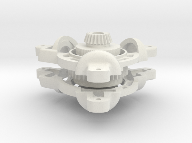 Differential Set 2 in White Natural Versatile Plastic